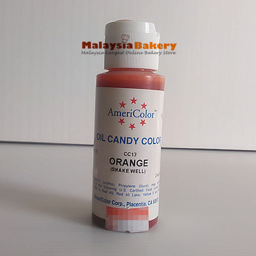 Americolor Orange Oil Color 2oz