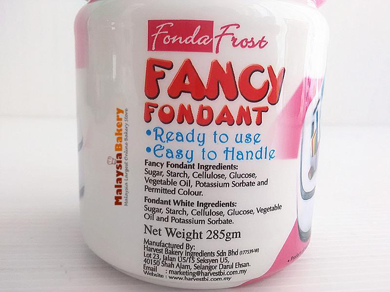 Fancy Fondant White 285gm