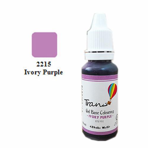 Trans Ivory Purple Gel 0.88oz
