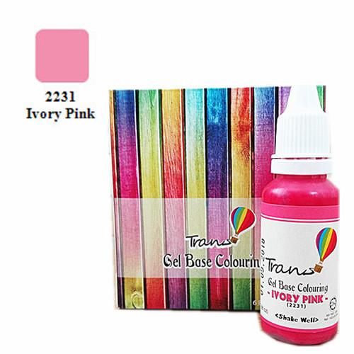 Trans Ivory Pink Gel.88oz